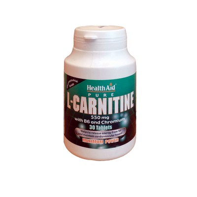 Health Aid - L-Carnitine 550mg - 30tabs