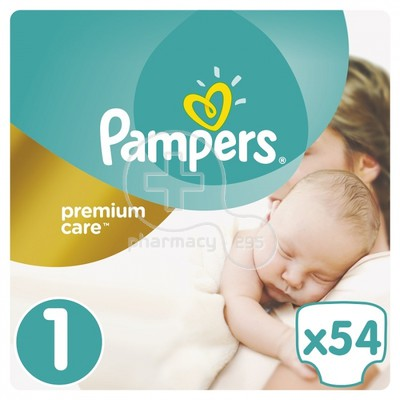 PAMPERS - PREMIUM CARE New Baby No1 (2-5kg) - 54 πάνες