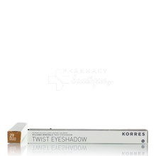 Korres Volcanic Minerals Twist Eyeshadow - 29 Golden Bronze, 1.4 gr