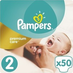 Pampers Premium Care No 2 (3-6Kg) 50 τμχ