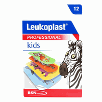 LEUKOPLAST STRIPS KIDS (2 ΜΕΓΕΘΗ) 12ΤΕΜ