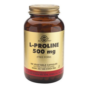Solgar l proline 500mg