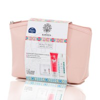 GARDEN - PROMO PACK BEAUTY BAG SET No5 Αντιρυτιδική κρέμα προσώπου & ματιών - 50ml, Peel Off Glitter Mask - 75ml & Micellar Water all-in-one - 100ml