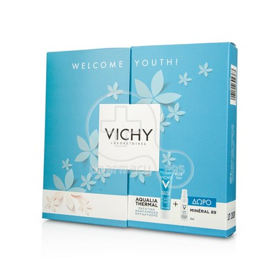 VICHY - PROMO PACK WELCOME YOUTH AQUALIA THERMAL Creme Rehydratante Riche - 30ml PS ΜΕ ΔΩΡΟ Mineral 89 - 5ml