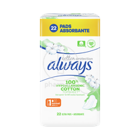 ALWAYS - COTTON PROTECTION Normal No1 - 22τεμ.