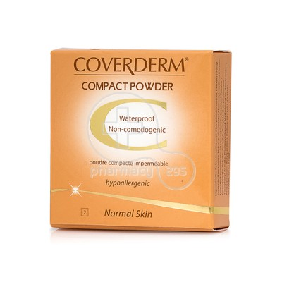 COVERDERM - COMPACT POWDER Normal Skin No2 - 10gr