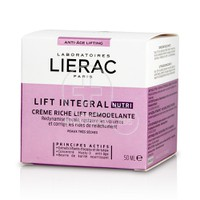 LIERAC - LIFT INTEGRAL Nutri Creme Riche Lift Remodelante - 50ml PTS
