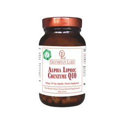 Alpha Lipoic Acid (100mg) + Coenzyme Q10 (100mg)
