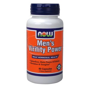 Now men s virility power   60 capsules