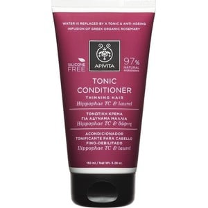 APIVITA Tonic conditioner for thinning hair με ιπποφαές & δάφνη 150ml