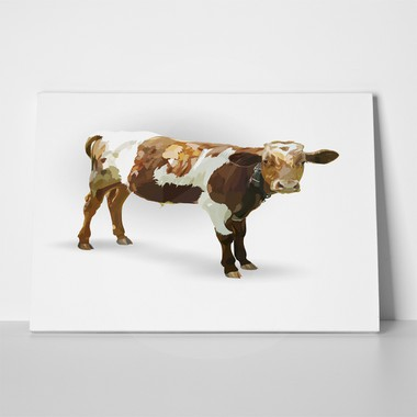 Cow calf brown paint 497317690 a