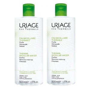 Uriage set eau micellaire 2x500ml