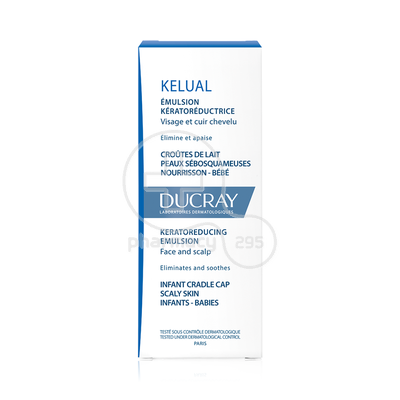 DUCRAY - KELUAL Emulsion Keratoreductrice - 50ml