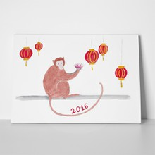 Monkey lanterns lotus 357422732 a