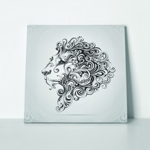 Lion curly lines 267102473 a