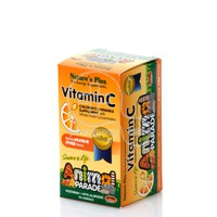 NATURE'S PLUS - SOURCE OF LIFE ANIMAL PARADE Vitamin C - 90tabs