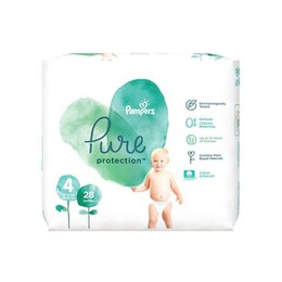 Pampers Pure Protection No 4 (9-14kg) 28τμχ