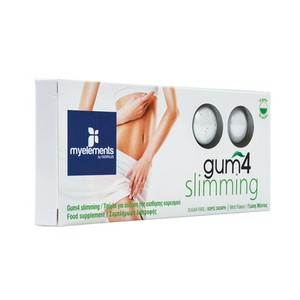 MY ELEMENTS Gum 4 slimming 10gums