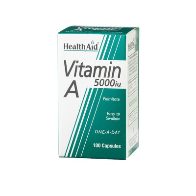 Health Aid - Vitamin A 5000iu -100caps