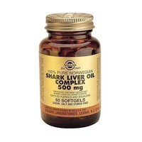 SOLGAR SHARK LIVER OIL 500MG SOFTGELS 60S