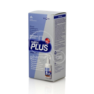 HEDRIN – PLUS SPRAY GEL – 100ml