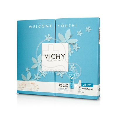 VICHY - PROMO PACK WELCOME YOUTH AQUALIA THERMAL Creme Rehydratante Legere - 30ml PN ΜΕ ΔΩΡΟ Mineral 89 - 5ml