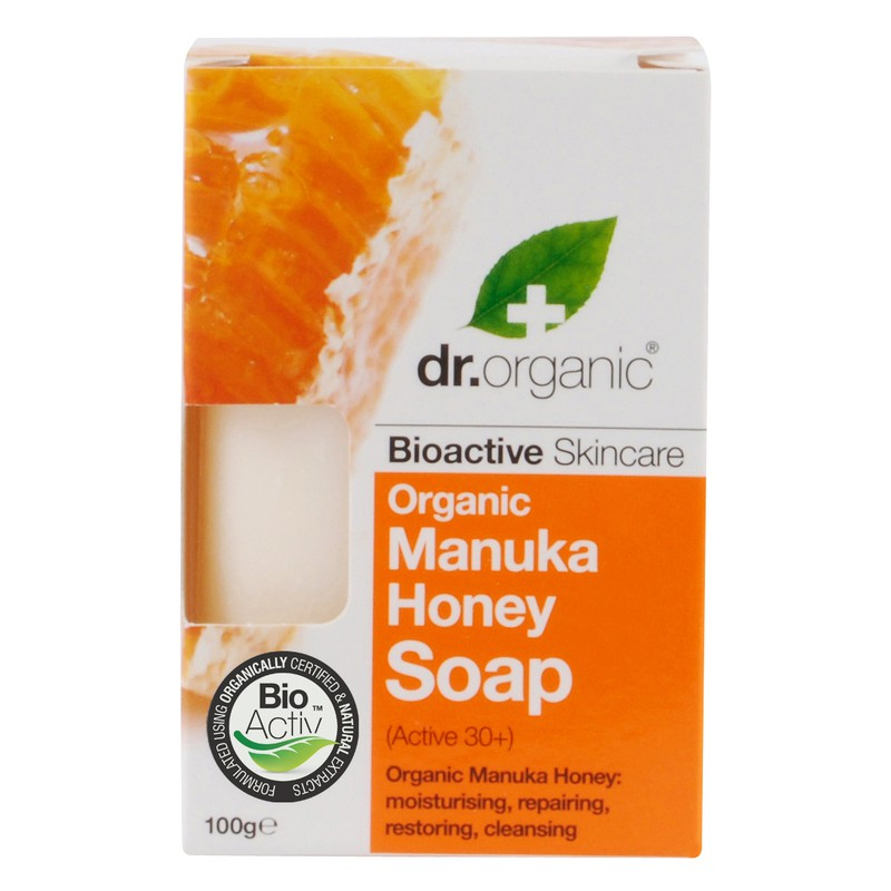 Organic Manuka Honey Soap 100gr
