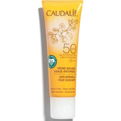 Caudalie Anti-Wrinkle Face Suncare Cream High Protection SPF50 - Αντιρυτιδικό Αντηλιακό Προσώπου, 25mL