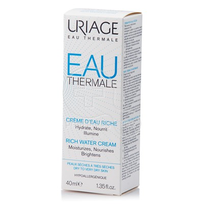 URIAGE - EAU THERMALE Creme D Eau Riche - 40ml d85d91ae15d