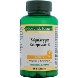 Natures boundy vitamin b complex 100caps