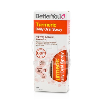 BETTER YOU - Turmeric Daily Oral Spray - 25ml