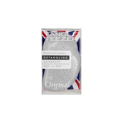 Tangle Teezer Detangling Hairbrush Wet And Dry Original Silver Glitter/Lilac 1 picie