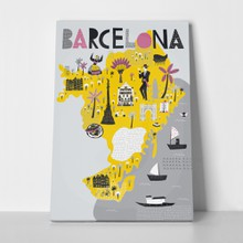 Map barcelona spain 625838738 a
