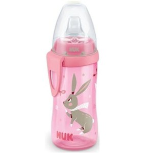 Nuk active cup pink