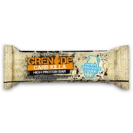 Grenade Carb Killa White Chocolate Cookie Μπάρα Υψηλής Πρωτεΐνης, 60 gr