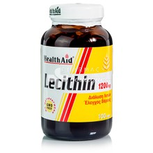Health Aid LECITHIN 1200mg, 100 caps
