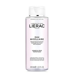 Lierac Eau Micellaire Cleansing Water - Διάλυμα Καθαρισμού Προσώπου & Ματιών, 400ml