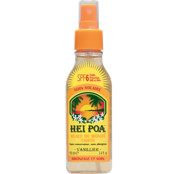 Hei Poa Tahiti Monoi Oil SPF6 Vanilla Spray 100ml