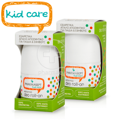 PHARMASEPT - PROMO PACK 2 ΤΕΜΑΧΙΑ KID CARE Extra Mild Deo Roll-On - 50ml