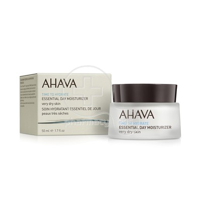 AHAVA - TIME TO HYDRATE Essential Day Moisturizer (Very Dry Skin) - 50ml