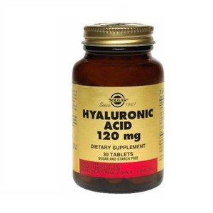 SOLGAR Hyaluronic acid complex 120mg 30tablets