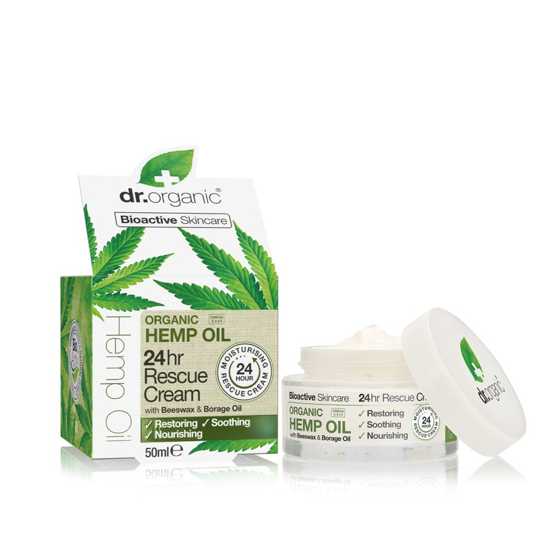 Organic Hemp Oil 24h rescue cream 50ml
