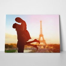 Romantic lovers in paris 240169459 a