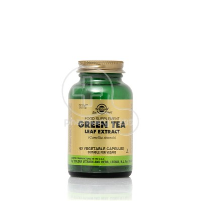 SOLGAR - Green Tea Leaf Extract - 60caps