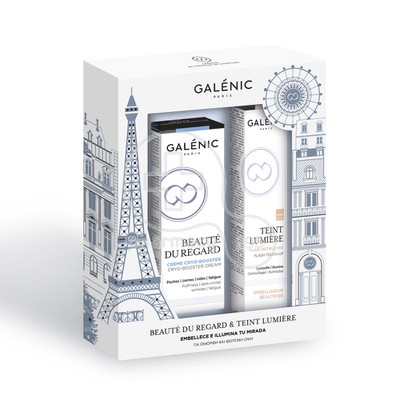 GALENIC - PROMO PACK BEAUTE DU REGARD Creme Cryo-Booster (15ml) ΜΕ ΔΩΡΟ TEINT LUMIERE Flash Retouches (Ivory- 2ml)