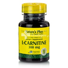 Natures Plus L-Carnitine 300mg, 30vcaps