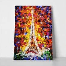 Eiffel tower oil painting 2 170097782 a