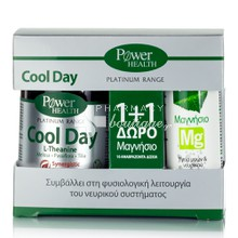 Power Health Σετ Platinum - COOL DAY, 30 tabs + Δώρο Magnesium 10 eff. tabs