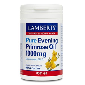 LAMBERTS Pure evening primrose oil 1000mg 90κάψουλες