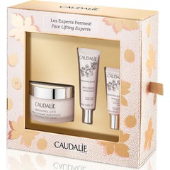 Caudalie Face Lifting Experts: Resveratrol Face Lifting Soft Cream - Συσφιγκτική Κρέμα ημέρας, 50ml & Δώρο Lift Serum Fermete - Συσφιγκτικό Serum 10ml & Eye Lifting Balm - Κρέμα Ματιών, 5ml